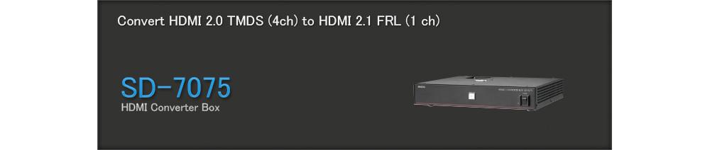 Altronics - HDMI 2.1 Converter SD-7075