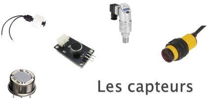 Capteurs de mesure