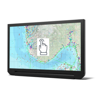 Altronics - Écran Tactile 24 pouces / 24 pouces HB Wave II